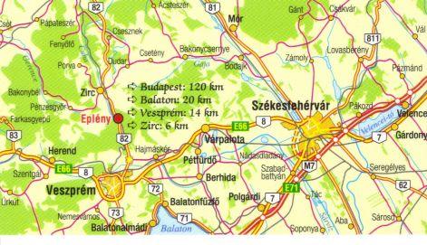 eplény térkép Térkép eplény térkép